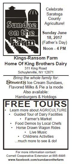 Sundae on the farm flier